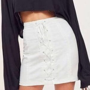 URBAN OUTFITTERS /Silence + Noise Corsette Skirt